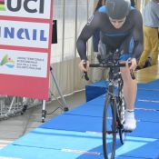 Paracycling Worldcup MC2 Ewoud Vromant tijdrit Maniago